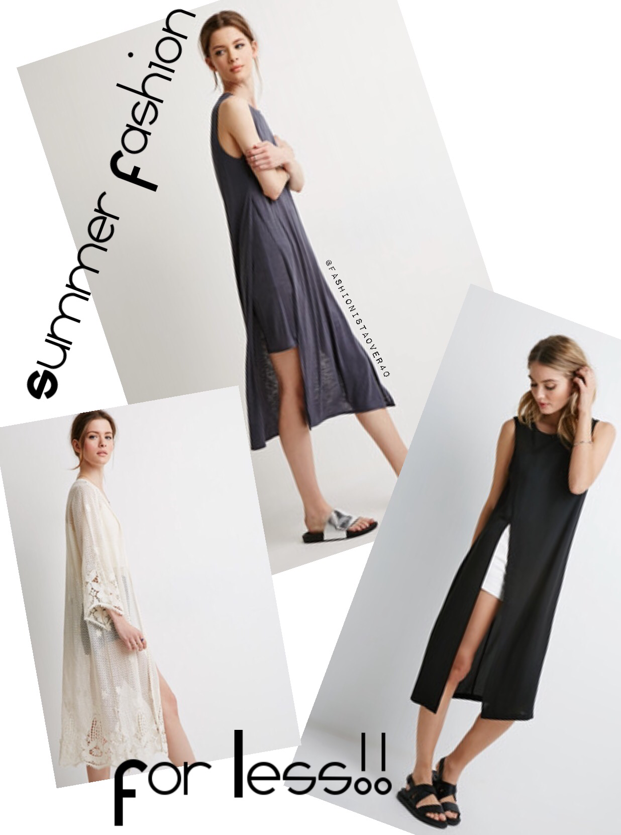 Summer Fashion For Less Fashionistaover40
