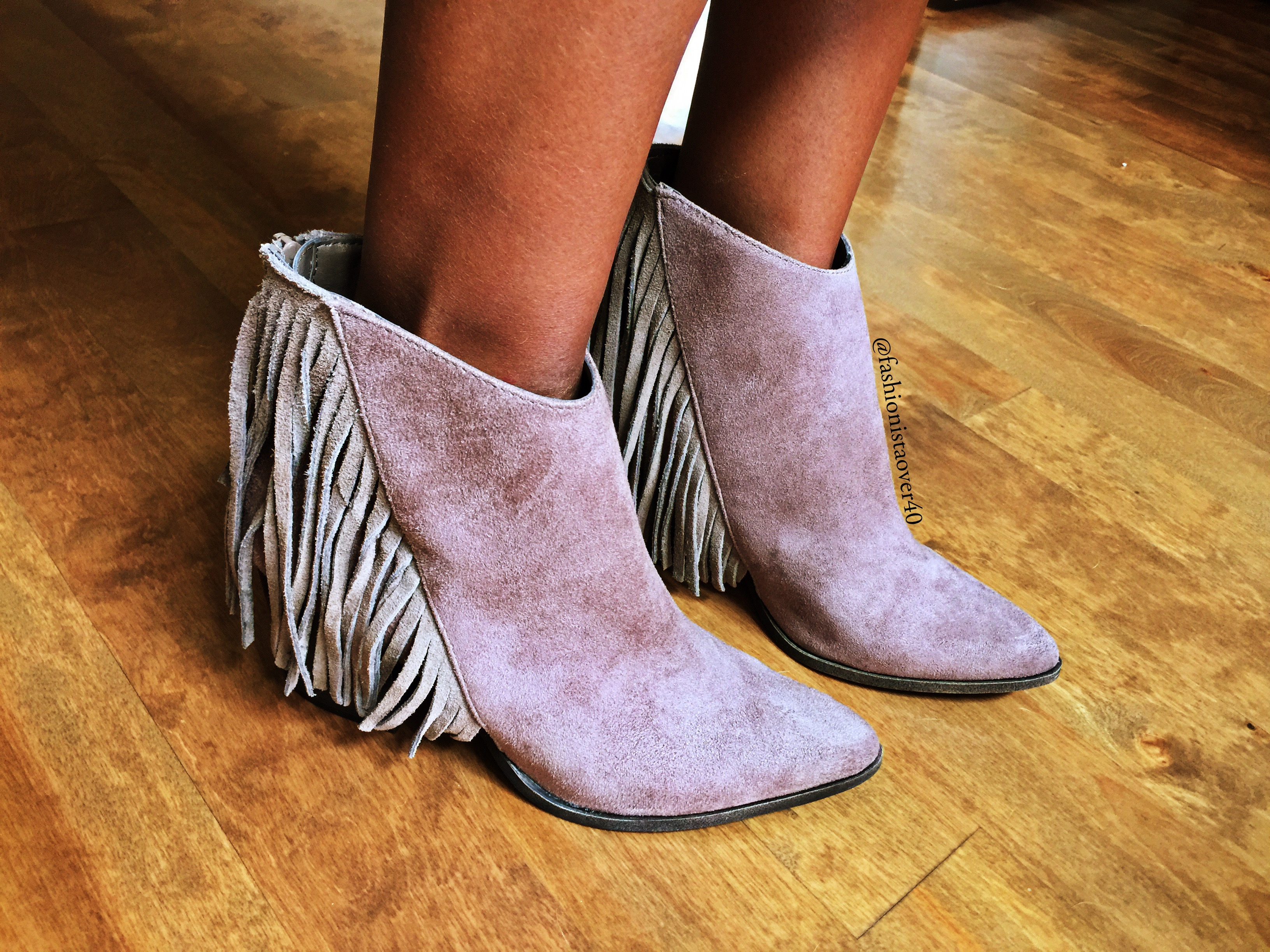 Target Fringe Boots | FashionistaOver40